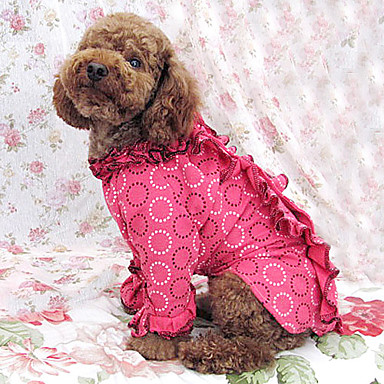 Lovely Circle Pattern Long Sleeve Style Evening Dresses for Dogs (S-XXL)