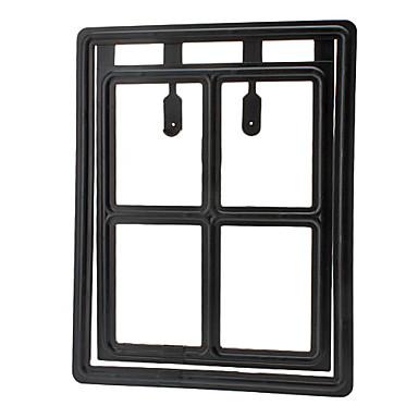 Dog Cat Pet Screen Flap Door for Doors and Windows (30 x 40cm)