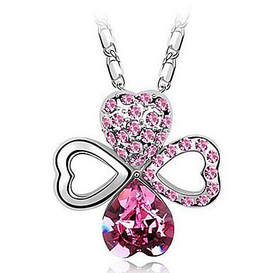 eruner®crystal& алмазов шипованных ожерелья клевера