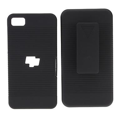 Querlinien Grain Hard Case mit Clip für Blackberry Z10