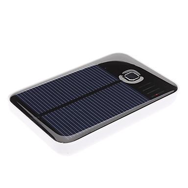 zonne-energie power bank met dubbele USB-uitgang voor iPad, iPhone en meer (5000 mah)
