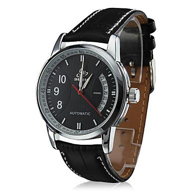 Unisexe Style du calendrier pu analogique montre-bracelet mécanique (couleurs assorties)