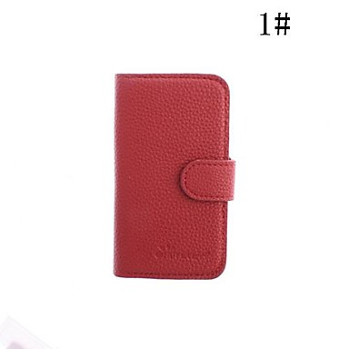 Genuine Leather Case with Stand for iPhone 4/4S(Assorted Colors)