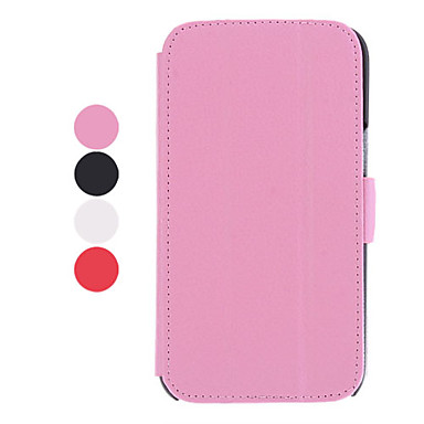 3 Folding Leechee Pattern Stand Available Leather Samsung Mobile Phone Cases for Galaxy Note 2/7100(4 Colors)
