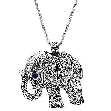 safir asil fil kolye göz