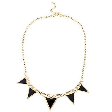 z&x® móda geometrie vydlabat slitiny náhrdelník