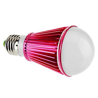 E26/E27 7 W 7 High Power LED 450 LM Warm White A Dimmable Globe Bulbs AC 220-240 V