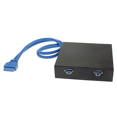 2 porte 3.0 Hub floppy Pannello frontale USB (0.4M)