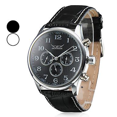 Муж. Модные часы / Нарядные часы / Армейские часы Календарь / Аналоговый Кожа Группа