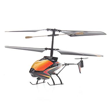 3.5-Channel Jaune hélicoptère infrarouge de la télécommande (pile bouton)