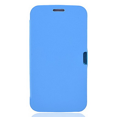 Blue PU Leather Full Body Case for Samsung Galaxy Note2 N7100
