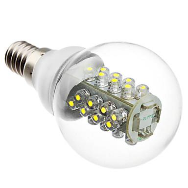 175lm E14 LED Küre Ampuller G45 32 LED Boncuklar SMD 5050 Doğal Beyaz 220-240V