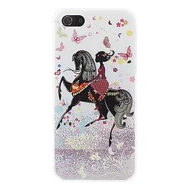cavallo custodia rigida modello per 5/5s iphone