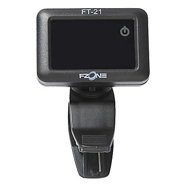 FZONE - Two Color Touch Screen Tuner for Guitar/Bass/Ukulele/Chromatic/Violin