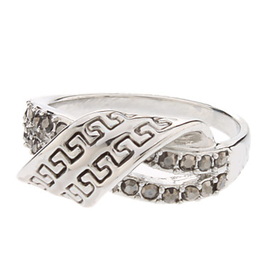 X Shaped Alloy Ring