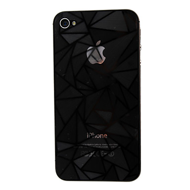 3D Triangle Pattern Front and Back Screen Protector for iPhone 4/4S