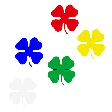 Dört yapraklı yonca Desen Araba Dekoratif Sticker (6-Adet)