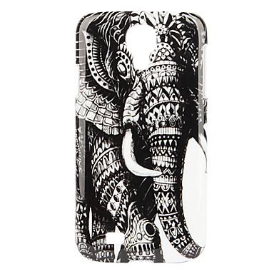 Elephant Pattern Hard Case für Samsung Galaxy i9500 S4