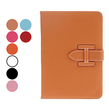 Litchi Grain PU Leather Case w/ Stand & Card Slot for iPad mini 3, iPad mini 2, iPad mini (Assorted Colors)