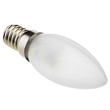 Lampandine a candela 7 SMD 5050 Eastpower C35 E14 1 W Decorativo 70 LM Luce fredda AC 220-240 V