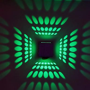 Duvar ışığı Ortam Işığı 3W 90-240V Birleştirilmiş LED Modern/Çağdaş Eloktrize Kaplama