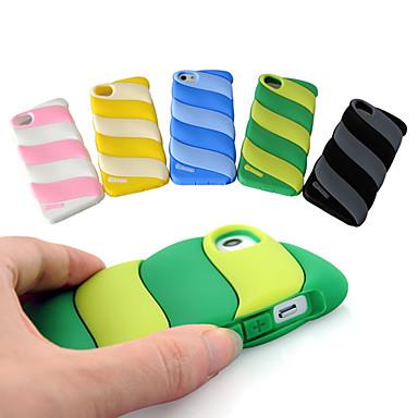 Cotton Candy étui souple de gel de silice de conception pour l'iphone 5/5s (couleurs assorties)