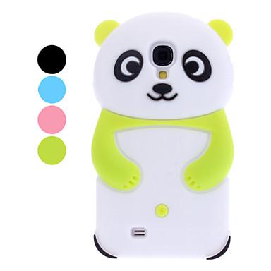 estuche blando 3d diseño del patrón de la panda para i9500 de Samsung Galaxy S4