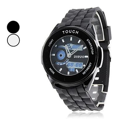 Menns Touch Screen stil Silicone Digital Automatic Multi-bevegelse armbåndsur (assorterte farger)