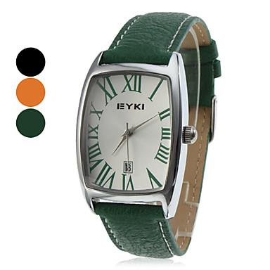 Women's PU Analog Quartz Wrist Watch (Assorted Colors)