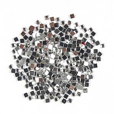 1000 pcs Parıltı Tırnak Takısı Yapay Elmaslar tırnak sanatı Manikür pedikür Günlük Punk / Düğün / Moda / Arkilik / Nail Jewelry