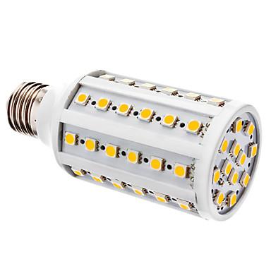 YWXLIGHT® 800 lm E26/E27 LED Mısır Işıklar T 60 led SMD 5050 Sıcak Beyaz Beyaz DC 12V