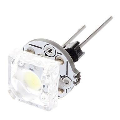 g4 0.5w 12lm 6000k branco frio lâmpada levou para o carro (12v)