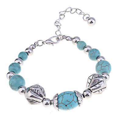 Dames Verzilverd Strand Armbanden - Groen Armbanden Voor Feest Dagelijks Causaal
