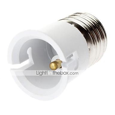 E27'den B22'ye kadar B22 Işık soketi Plastik