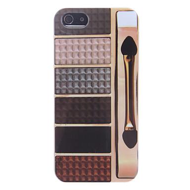 Earth Tone Eye Shadow Box Hard Case Pattern for iPhone 5/5S