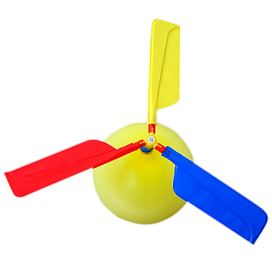 Uçan Gereçler Balonlar Helikopter Oyuncaklar Helikopter Yenilikçi Şişirilebilir Parti Plastik Çocuklar için Yetişkin 1 Parçalar