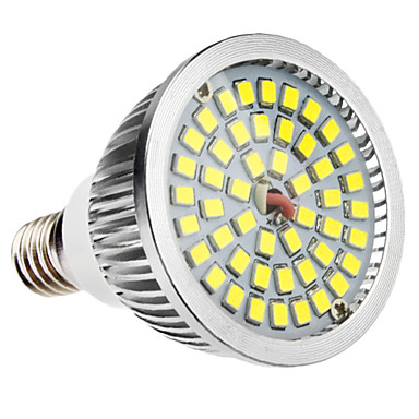 6W 500-300 lm E14 LED Spotlight MR16 48 leds SMD 2835 Natural White AC 100-240V