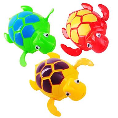Rüzgar ile Çocuk Swim Turtle (Rastgele Renk)