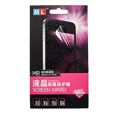 3 In 1 Crystal Screen Ward for Samsung Galaxy S2 I9100