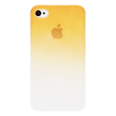 Transparent 3D Water Drops Surface PC Hard Case for iPhone 4/4S (Optional Colors)