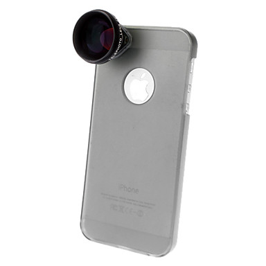 Aluminum Other 4X 500 Lens with Case iPhone 5 Cell Phone Lens