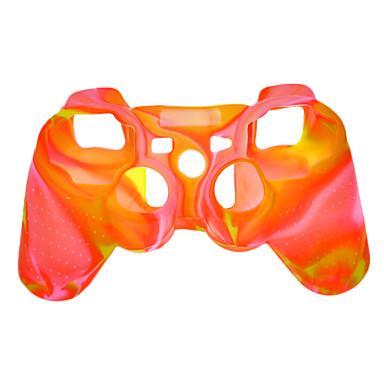 Beschermende siliconen Dual-Color Case voor PS3-controller