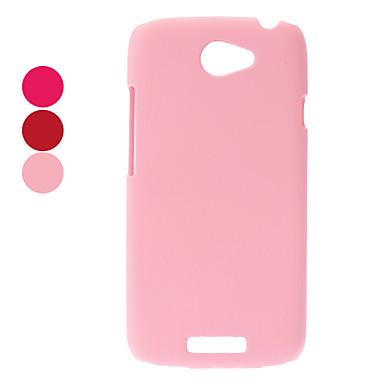 Műanyag védő tok HTC One S Z520e (választható színben)