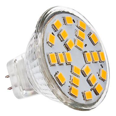 gu4 (mr11) led spotlight mr11 24 smd 2835 230lm sıcak beyaz 2700k dc 12 ac 12v