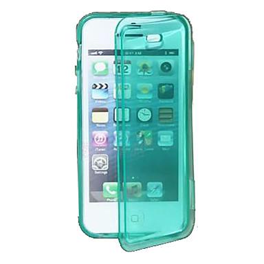protection étui souple en cas de TPU pour l'iphone 5/5s (couleurs assorties)