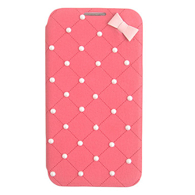 Elegant Bowknot Leather Case for Samsung Galaxy S4 I9500(Assorted Color)