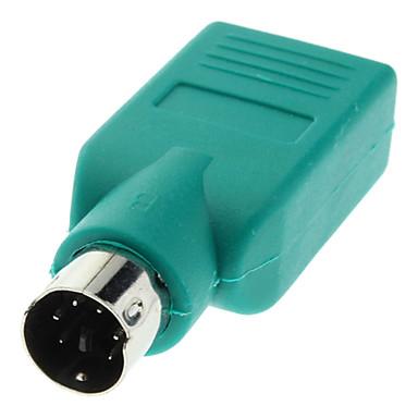 billige Kabler og adaptere-usb 2,0 kvindelig til ps2 mandlig konverter stik høj kvalitet, holdbar
