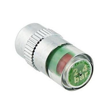 4pcs/set Araç Lastik Basıncı İzleme Vana Kök Cap Sensör Göstergesi Göz Uyarısı