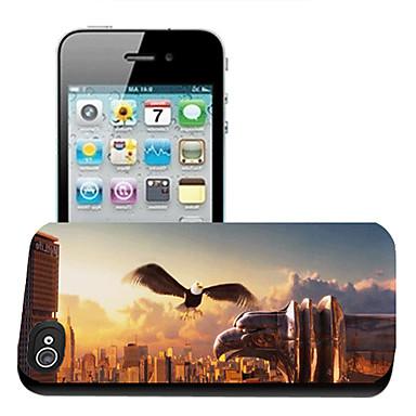 iphone5 için kartal desen 3d etkisi durumda