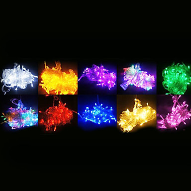 100 LED'ler RGB Renk Değiştiren AC220 AC 220V V